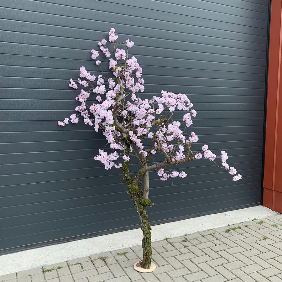 roze bloesemboom nep